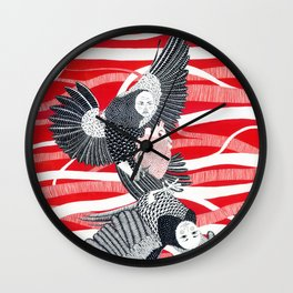 Alchonst and Sirin Wall Clock