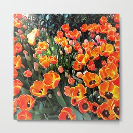 Red Tulips of Istanbul Metal Print