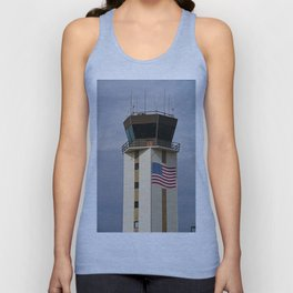 Naples Airport Control Tower Unisex Tank Top