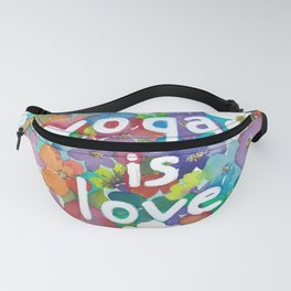 Yoga Is Love Fanny Pack
