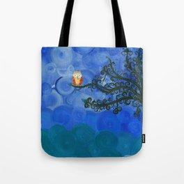Owl Art by MiMi Stirn - Owl Singles #336 Tote Bag