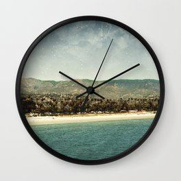 Santa Barbara Wall Clock
