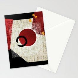 Zen Ensō Circle with Kanji Potential Stationery Cards