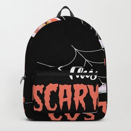 Scary Wine Costume Halloween Alcohol Backpack