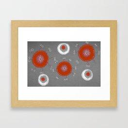 Cerchi Grigio Framed Art Print