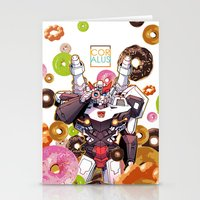 donuts Stationery Cards featuring Donuts by Coralus