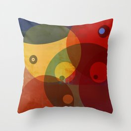 They watching you Now Throw Pillow