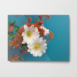 Indian Blossoms Metal Print