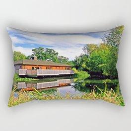 Lakeside Reflections Rectangular Pillow