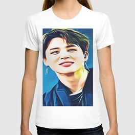 Amazing colourful Jimin bts Painting T-shirt
