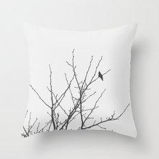 Slow Winter Throw Pillow