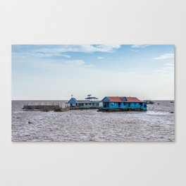 Chong Khneas Floating Village XII, Siem Reap, Cambodia Canvas Print