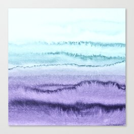 WITHIN THE TIDES LILAC MINT by Monika Strigel Canvas Print