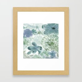 Bouquet of Dreams -- muted Framed Art Print