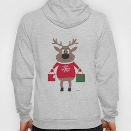 Merry Christmas Reindeer Hoody
