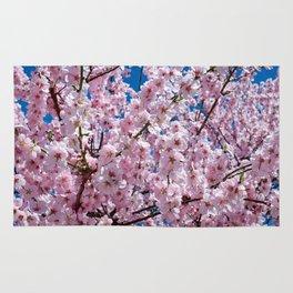 Japanese cherry Flowers 2 Rug