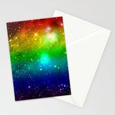 Rainbow Universe Stationery Cards