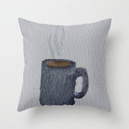 Tea Mug Throw Pillow