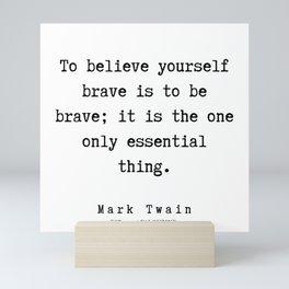 24      Mark Twain Quotes   190730 Mini Art Print