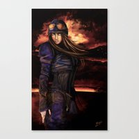 steam punk Canvas Prints featuring STEAM PUNK by Barrett Biggers