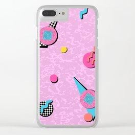 Memphistopheles Clear iPhone Case