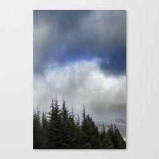 Purple forest. Canvas Print