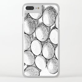 Two Dozen Eggs To Be Eggs Act Clear iPhone Case
