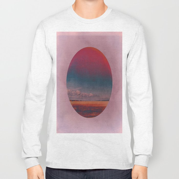 Coloring the Colour in the Sea Long Sleeve T-shirt