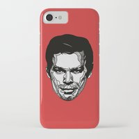 dexter iPhone & iPod Cases featuring Dexter by Dylan Morang