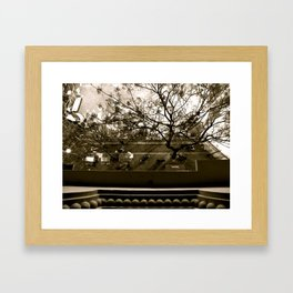 Valencia outside there Framed Art Print