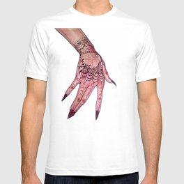 Rihanna's hand T-shirt