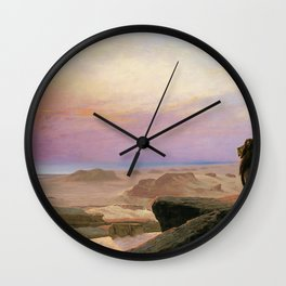 Jean-Leon Gerome - The Two Majesties - Digital Remastered Edition Wall Clock