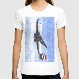 British Airways Boeing 747 Art T-shirt