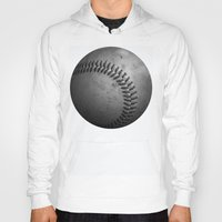 baseball Hoodies featuring Baseball by Christy Leigh