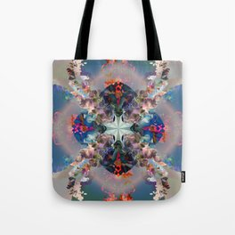 Project 71.138 - Abstract photo-montage Tote Bag