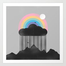 Beyond the Rain Art Print