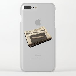 doobie Clear iPhone Case
