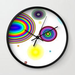 Rainbow circle Wall Clock