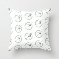 compass Throw Pillows featuring Compass by Omar VP