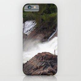 Mekong River Li Phi Waterfalls, Laos iPhone Case