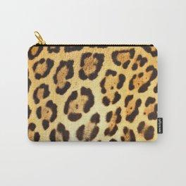 Piel de Jaguar Carry-All Pouch
