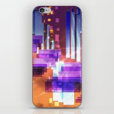 Abstract squares iPhone & iPod Skin