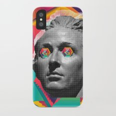 Psychedelic Face Slim Case iPhone X