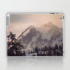 Pink Mountain Morning Laptop & iPad Skin