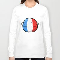 france Long Sleeve T-shirts featuring France by Thomas Official