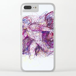 Burning Bowler Clear iPhone Case