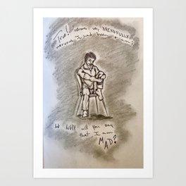 Tell-Tale Art Print