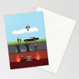 Supernatural - From Heaven and Hell Stationery Cards