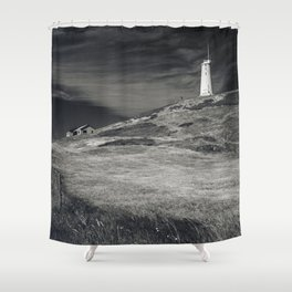 Reykjanesviti Lighthouse Shower Curtain