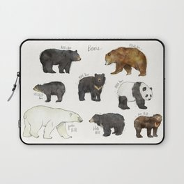 Bears Laptop Sleeve